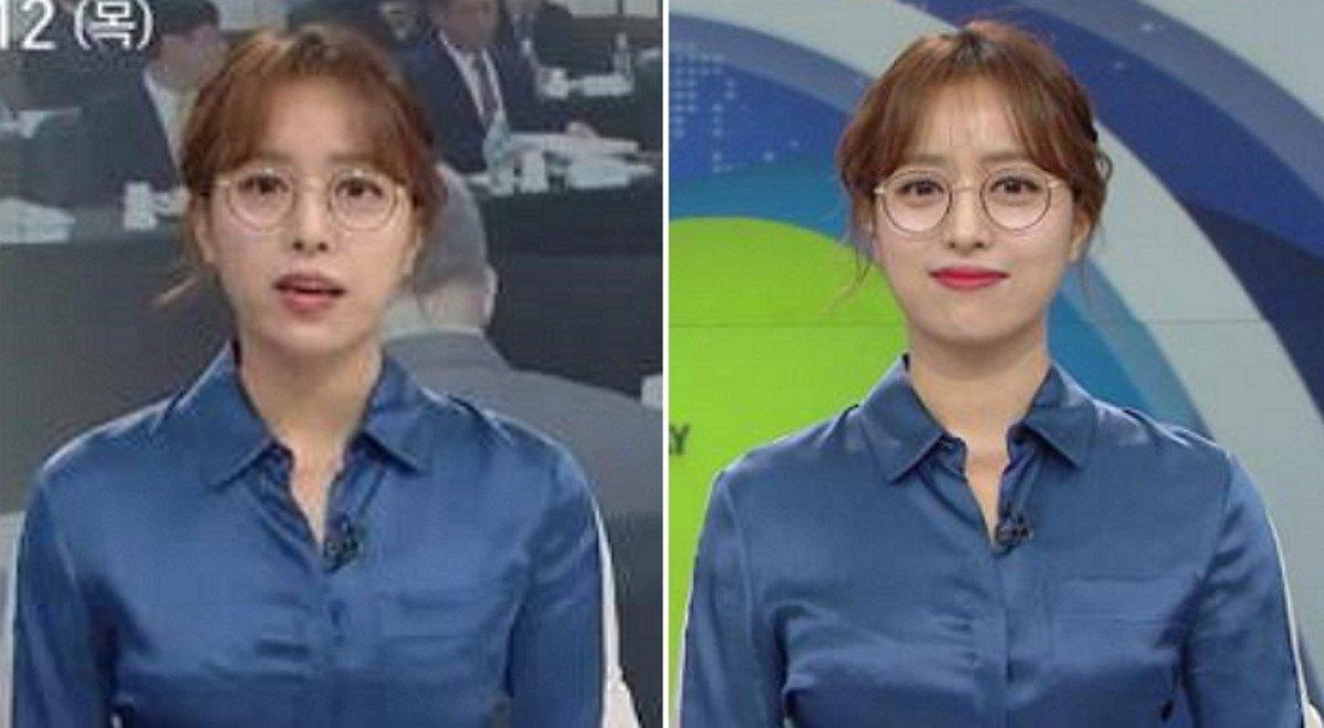 지상파 여성 최초로  '안경' 쓰고 뉴스 진행한 임현주 앵커  여성 앵커가 안경을 쓰는 게 금기가 되지 않기를 바랍니다.  https://t.co/fisivSp29s