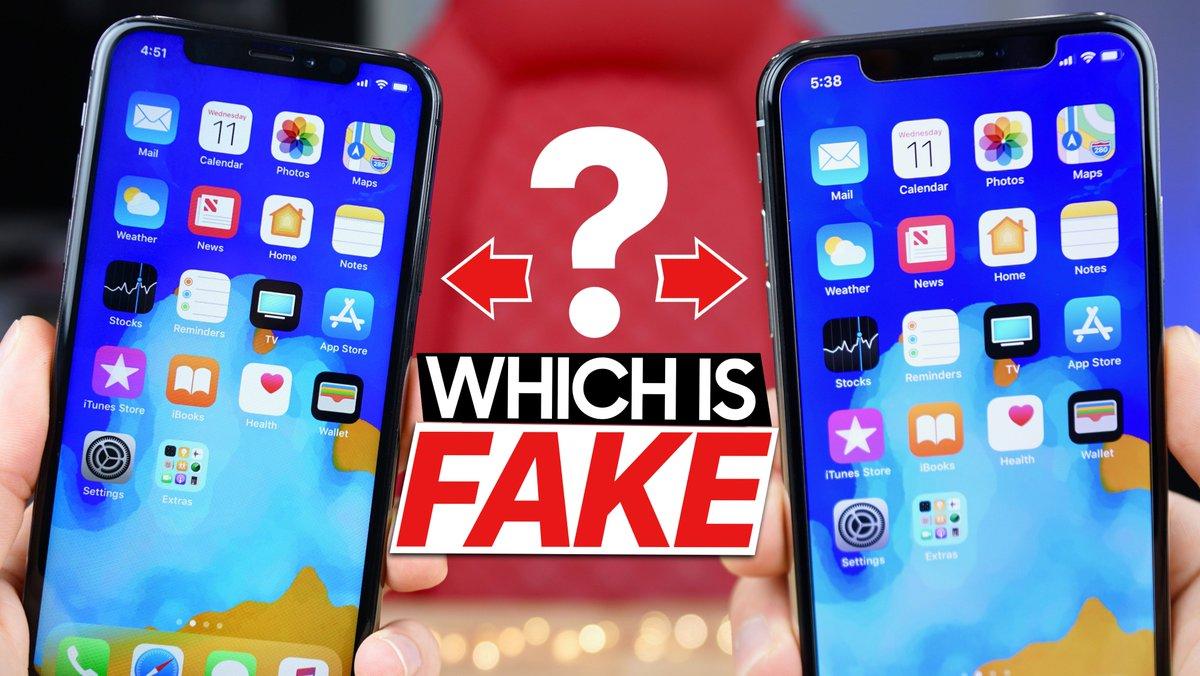 Everythingapplepro On Twitter A 130 Fake Iphone X That