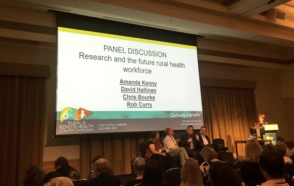 Institutional racism a key factor to consider in the future of research and health workforce in rural Australia  @chrisbourke #6rrhss <br>http://pic.twitter.com/UJl0kNsjRy