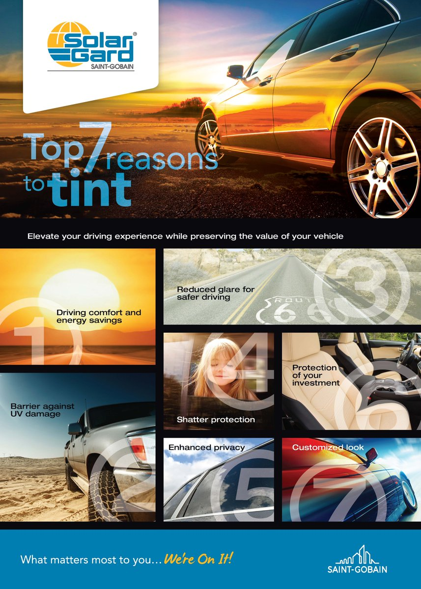 Solar Gard Tint >> Solar Gard Europe On Twitter 7 Reasons To Tint Your Car What