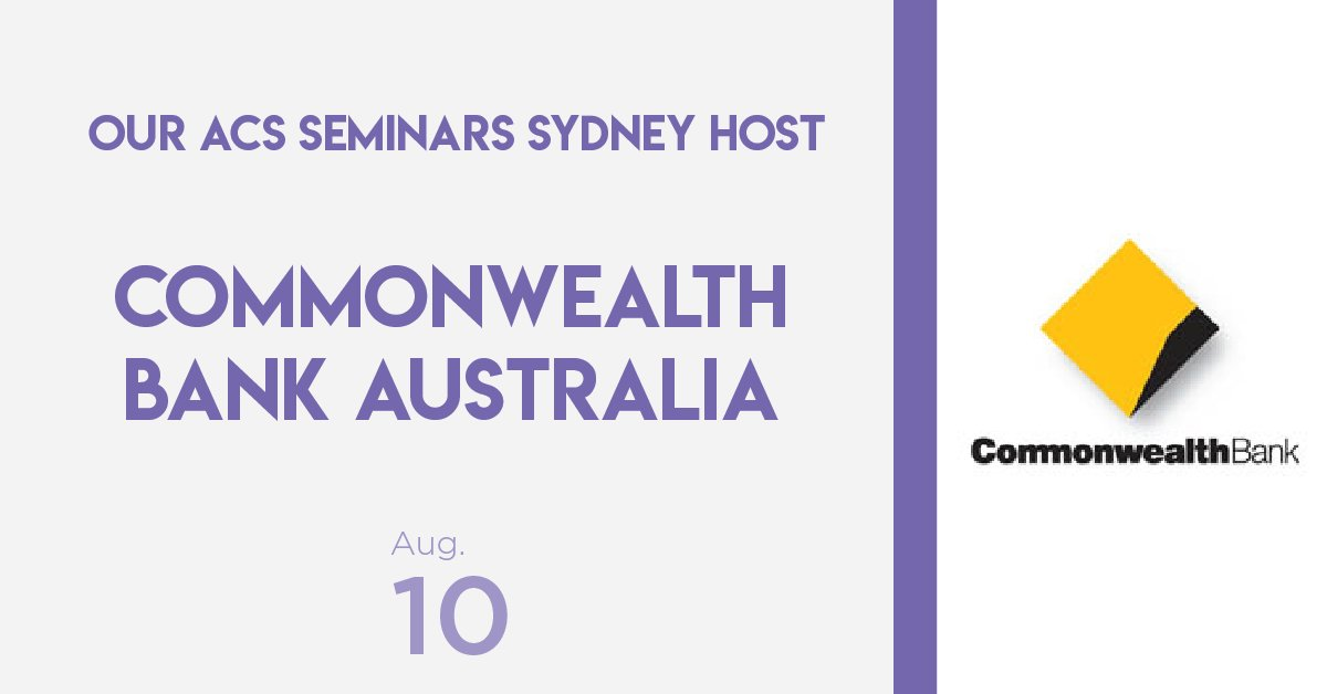 test Twitter Media - We're excited to announce our host for the #ACSSeminars Sydney - @CommBank!  Learn more and register for the Sydney event via the link https://t.co/XJ3vdHQueJ https://t.co/uZCOvf6ijY