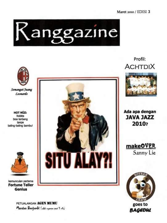 Today is supposed to be the 11th birthday of Ranggazine, my handmade magazine. :') Miss those times...