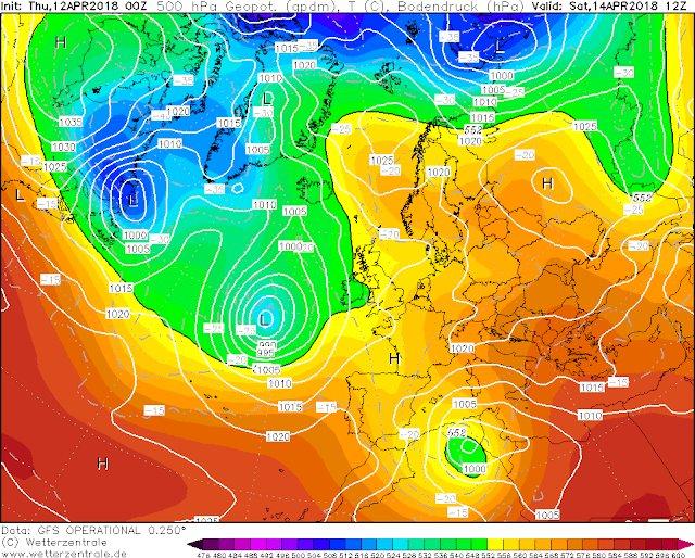 13 al 17 de Abril y tendencia . Calor la semana que viene. Cuidado con los aludes ❗️[PREVISIÓN] por Joseba ➡️https://t.co/T8Evag78kv