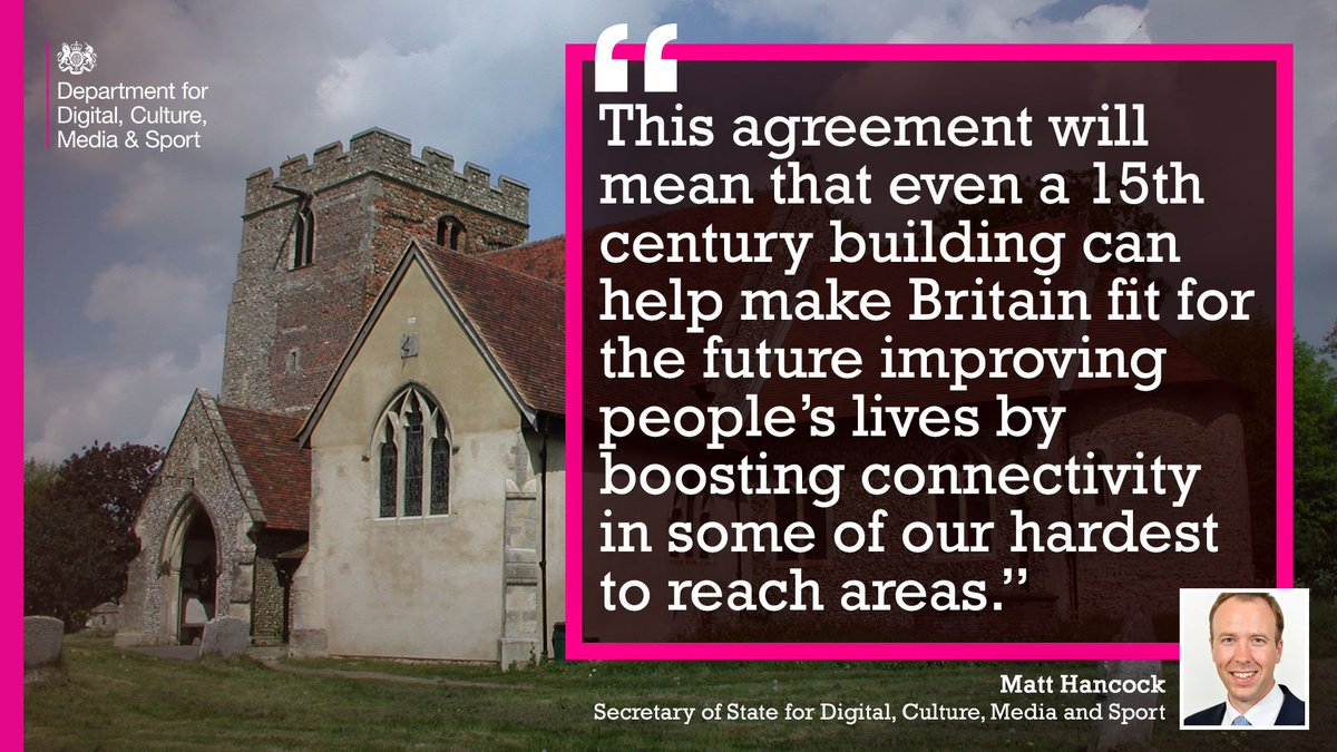 Did you know? The Church of England estate, including church spires, are being used to boost digital connectivity in rural areas following an agreement between the Government and the Church of England #NorthernPowerhouse #InnovativeNorth <br>http://pic.twitter.com/fm7P2pyz8L