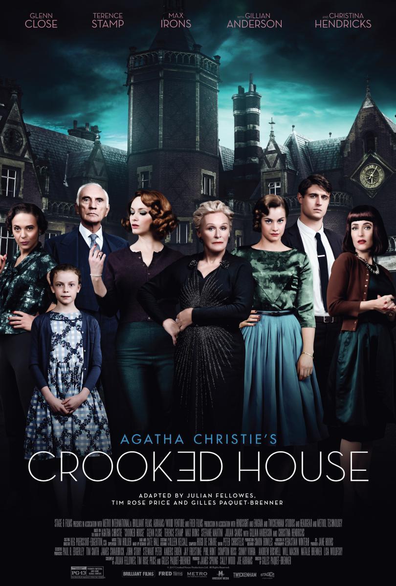 Mañana se estrena 'La casa torcida', última adaptación de la obra de Christie, y nosotros ya la hemos visto. Podéis leer nuestra crítica aquí mismo.  https://bit.ly/2GQseeJ @DeAPlaneta
