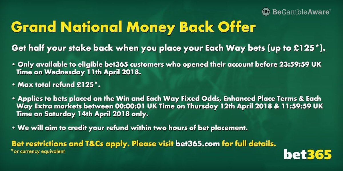 Place only bet grand national every craps betting