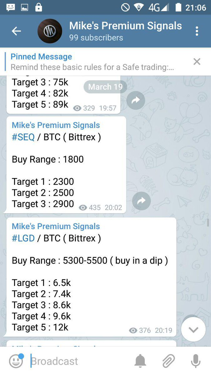 How Long Does It Take To Get Btc On Poloniex Telegram Crypto Signals