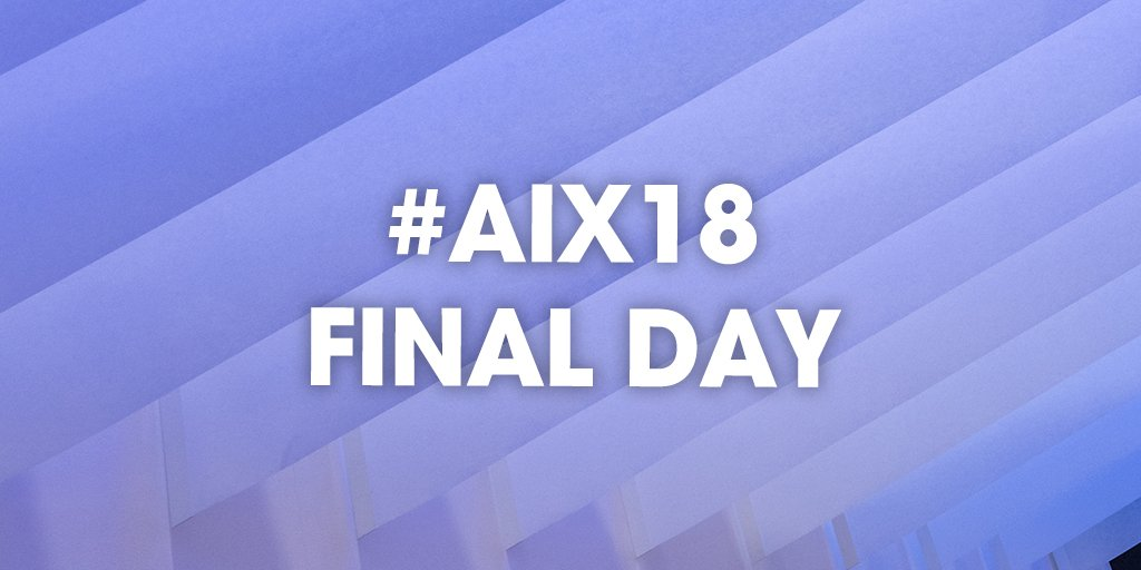 It's the final day of #AIX18. Hope everyone has a good day! #aix18 #aircraftinteriorsexpo #expo #life #aviation #aviationlovers #avgeek #aviationeverywhere pic.twitter.com/Yu9ODF3CgV