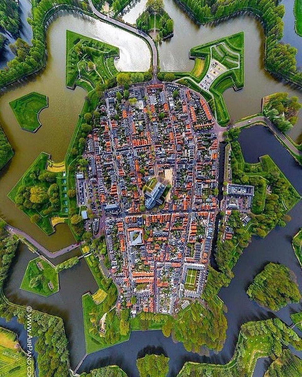 Map of Amsterdam, Netherlands