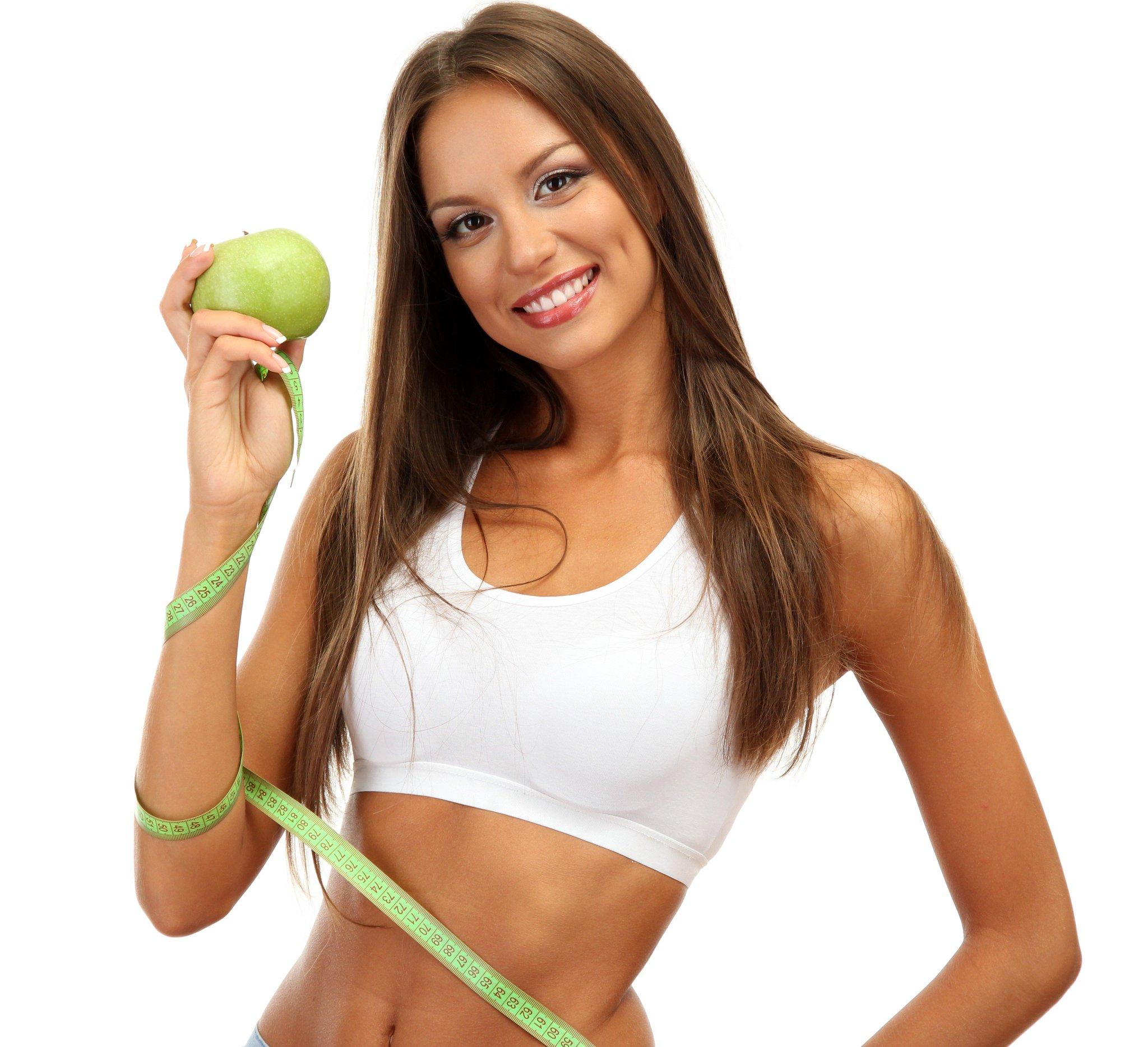 Похудение на яблоках фото