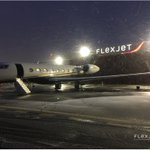 """Did you know Flexjet enlarged the hangar doors at #ICAO #KHPN to accommodate the 99'7"""" wingspan of the #Gulfstream #G650 ?"""