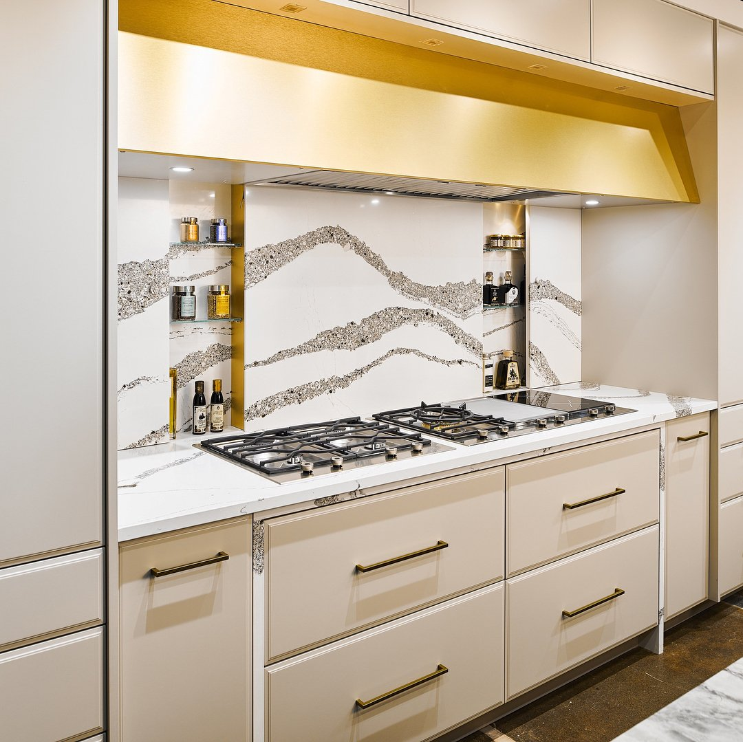 Cambria On Twitter Hidden Storage Is An Elegant Kitchenorganization Solution Especially When Part Of An Annicca Backsplash Check Out 12 Organization Ideas Here Https T Co 1zhw8b66tu Photo Urbanakitchens Mycambria Https T Co Glo6ahvtwb