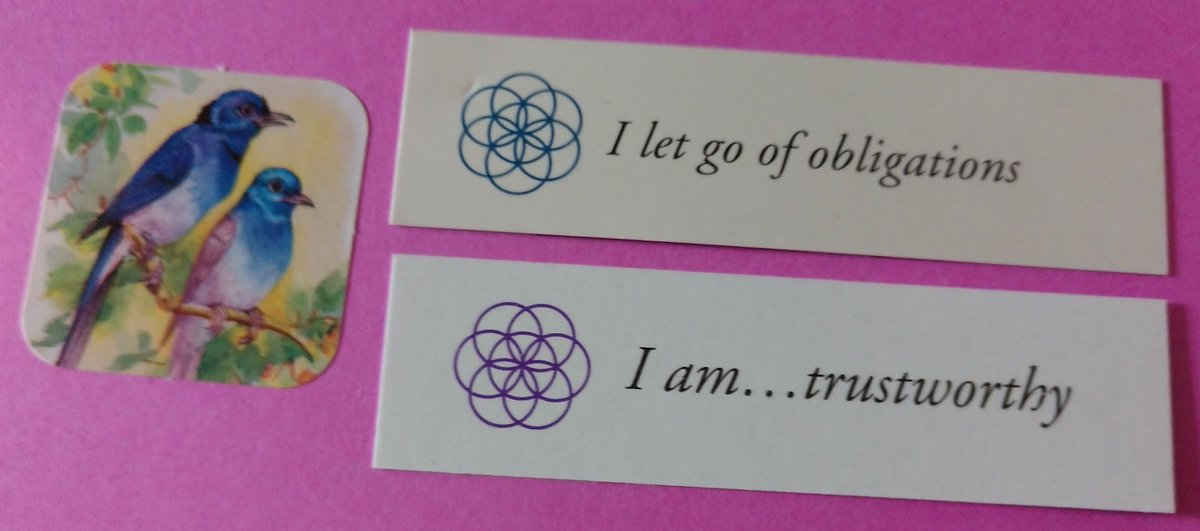 test Twitter Media - Today's Positive Thoughts: I let go of obligations and I am...trustworthy. Randomly selected from my #inspirational card sets. #affirmation https://t.co/SjprApTCIz