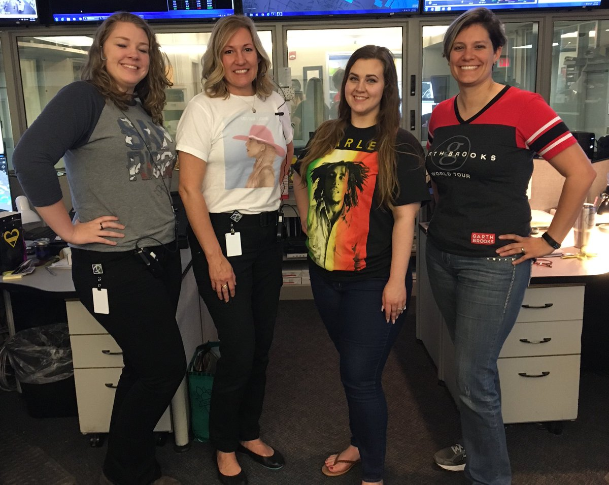 their voices are what you hear when you dial 911 todays theme favorite band t shirt thank you for your hard work great team spiritpictwittercom