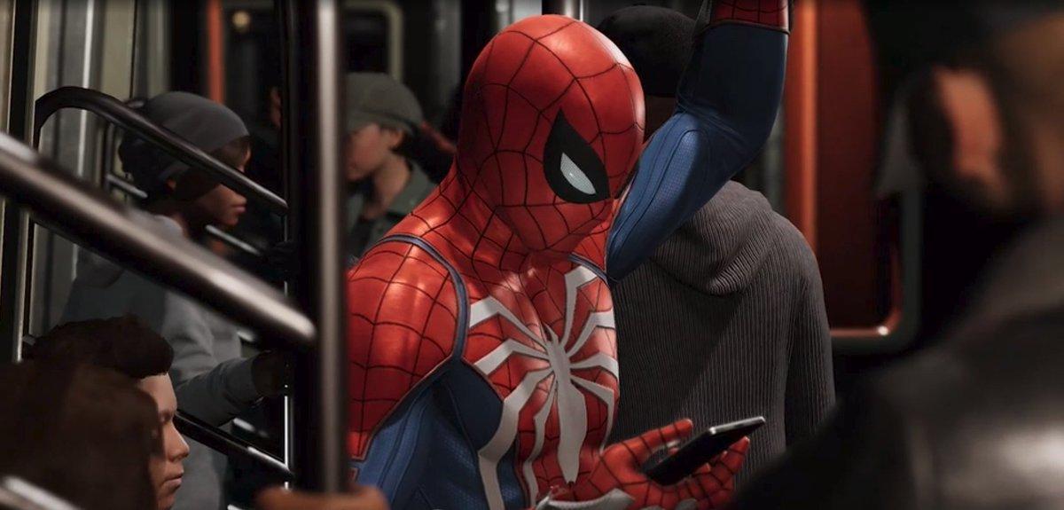 Spider Man Ps4 Spiderman Game Twitter
