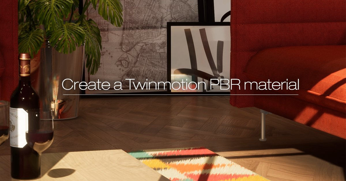 By Photo Congress || Twinmotion Create Materials