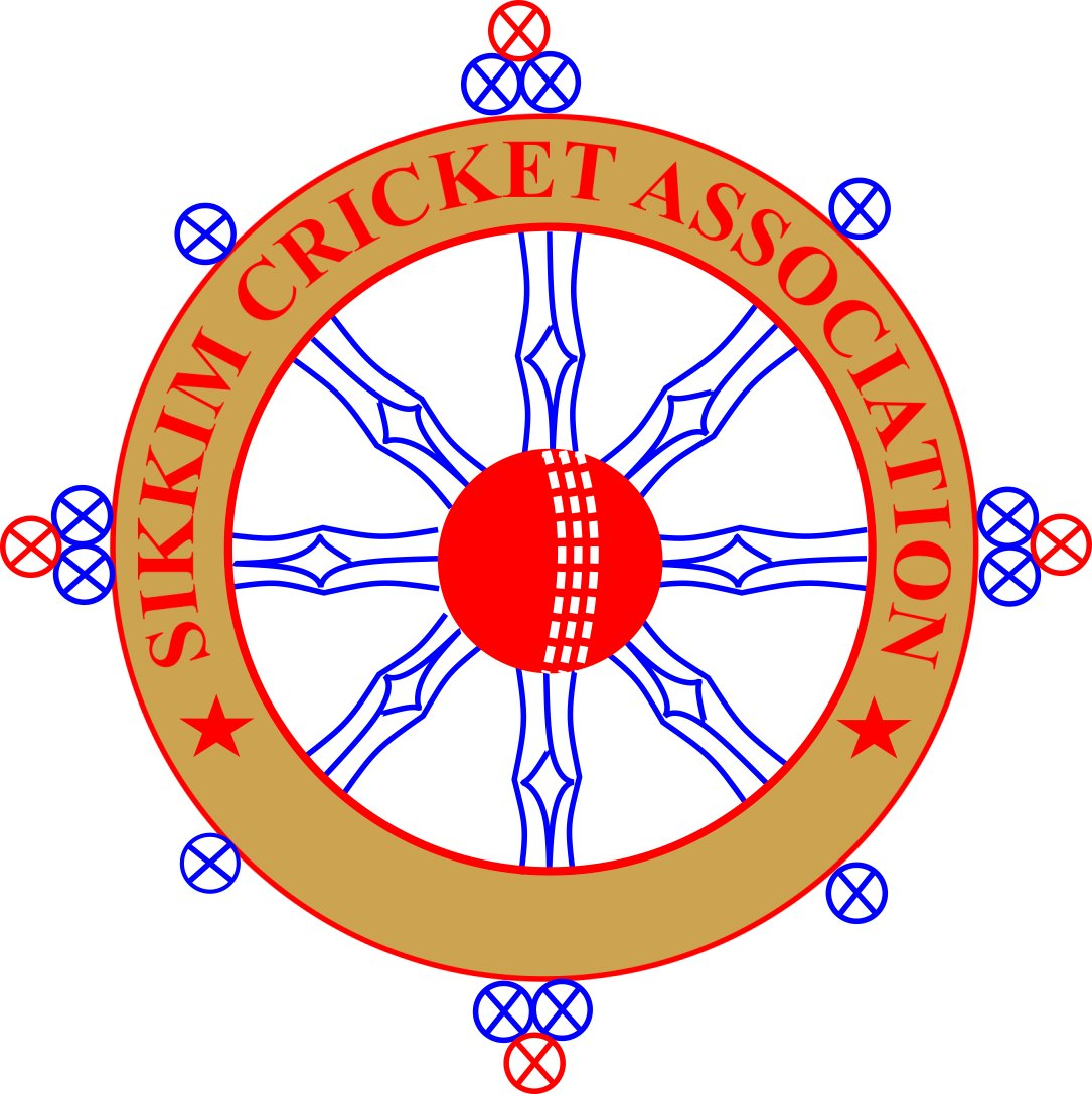 The Official Logo of Sikkim Cricket Association.. #myfirstTweet