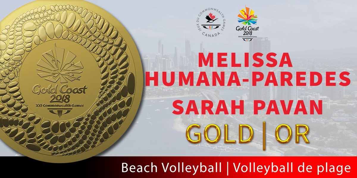 Congrats @SarahPavan and @melissa_hp10 #volleyball #RoleModels