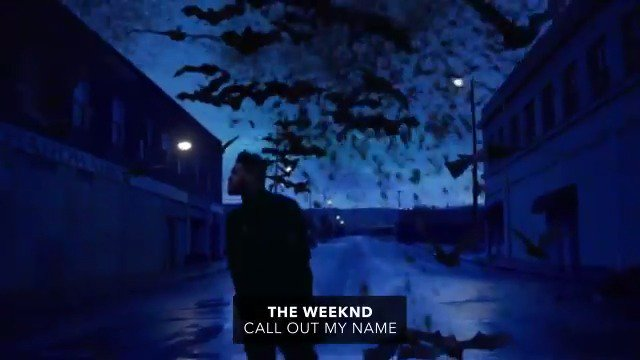 .@theweeknd's back with an otherworldly video for his latest hit 'Call Out My Name' ▶︎ vevo.ly/JFUUCn 💙
