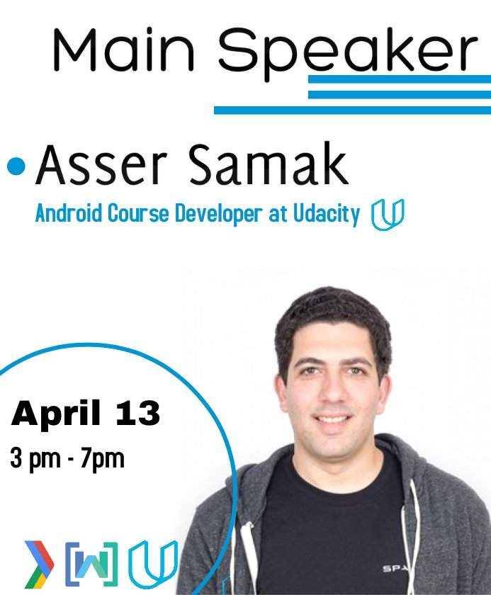 Join us in Kotlin on Android workshop with Asser Samak