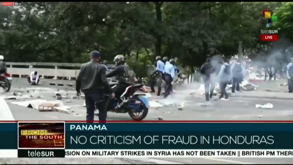 #Live From The South | Panama says diplomatic quarrel with Venezuela is due to human rights and democracy issues. Critics signal the lack of condemnation of electoral fraud in Honduras by the Panamanian government as proof that the decision is politically motivated.