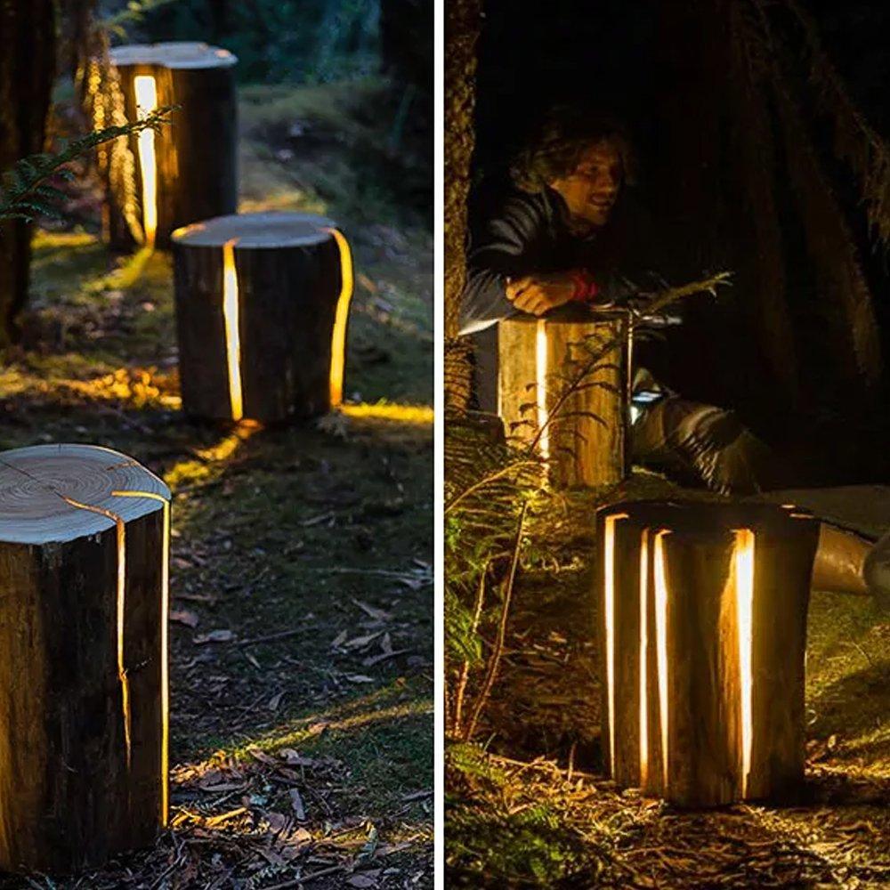 как сделать садовые светильники своими руками фото хотела