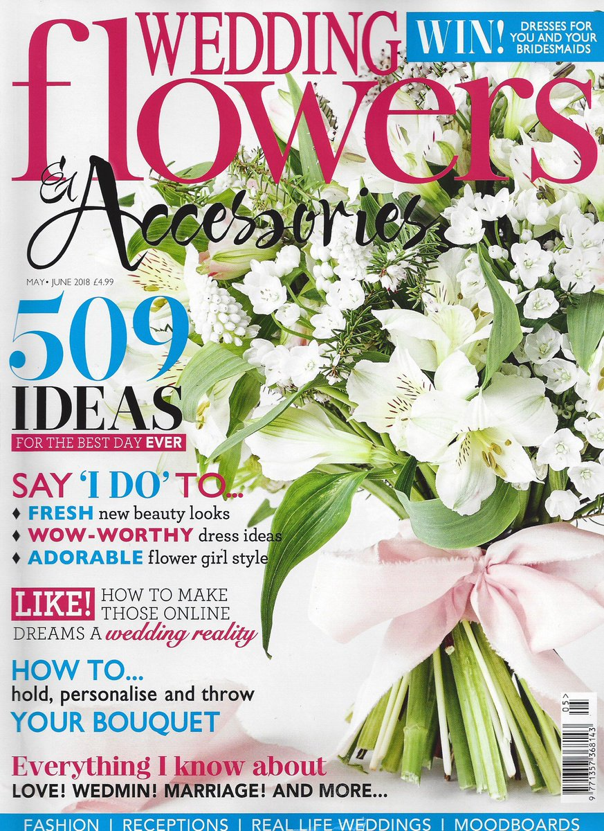 Wedding flowers wedflowersmag twitter we love the new issue of wedflowersmag magazine featuring our fairytale personalised confetti cones our adorable confetti wands and your chance to izmirmasajfo