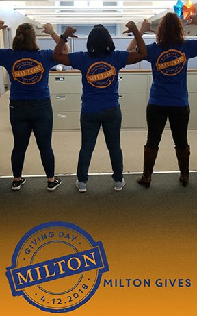 On campus today? Show your support of Giving Day by using our Snapchat filter! milton.edu/donate #miltongives