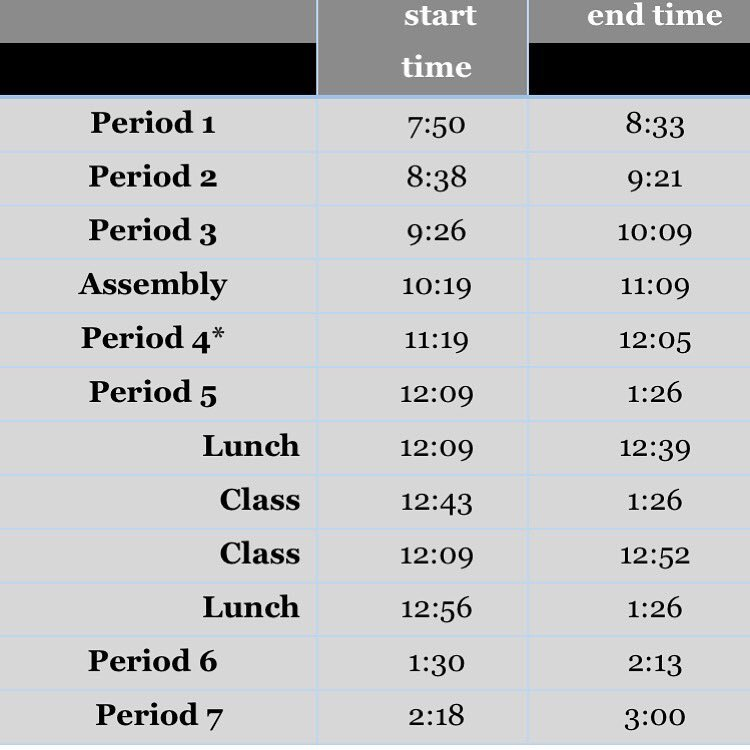 test Twitter Media - Today's schedule. Have fun at the assembly! https://t.co/8ytLemmyUY