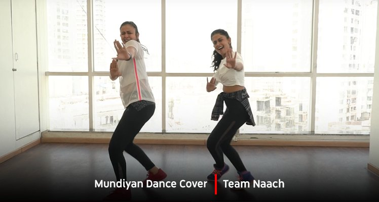 Mundiyan ke moves, @TeamNaach style! Check out their new dance cover → youtu.be/_BCUTzBjeMU