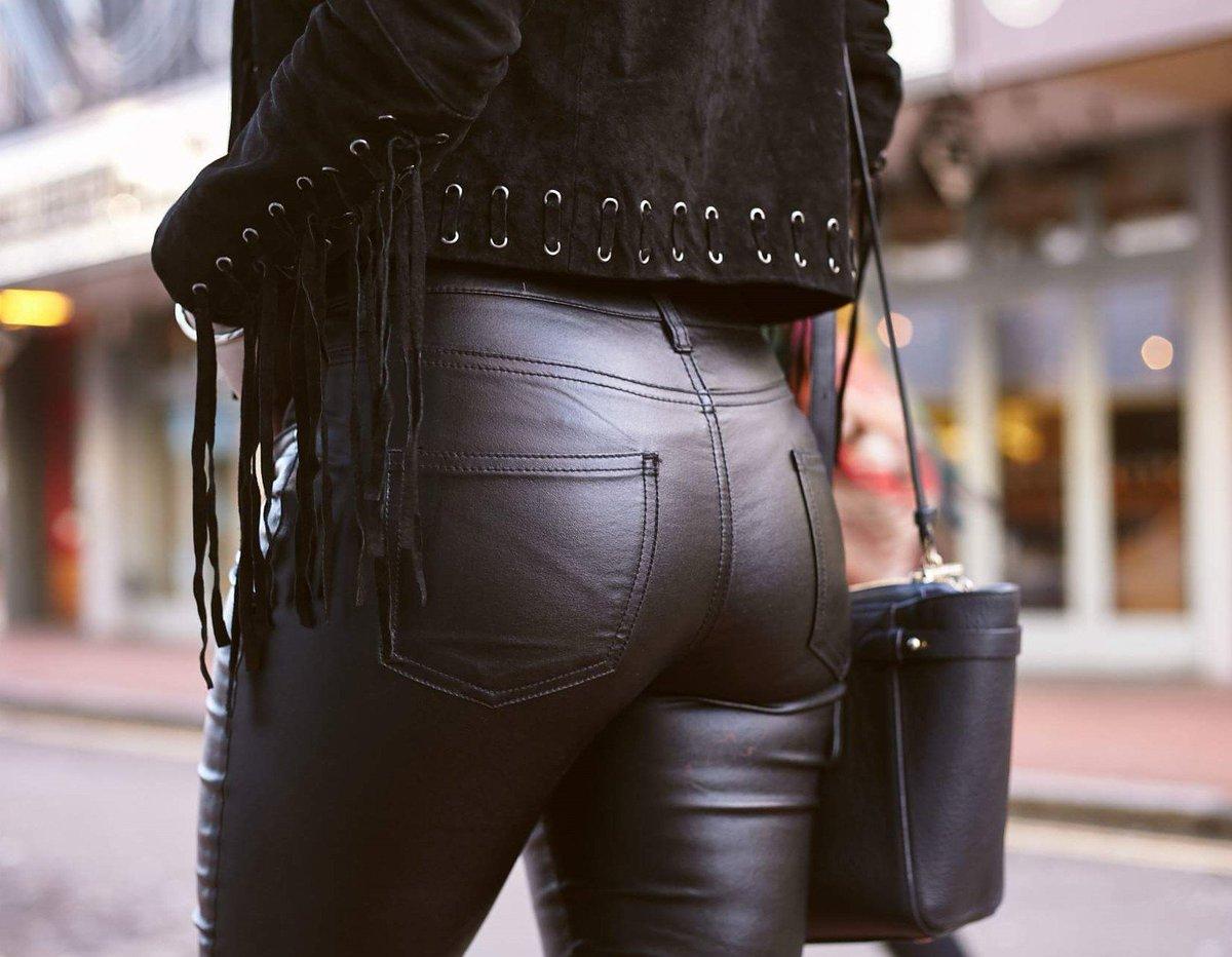 Попы в кожаных штанах