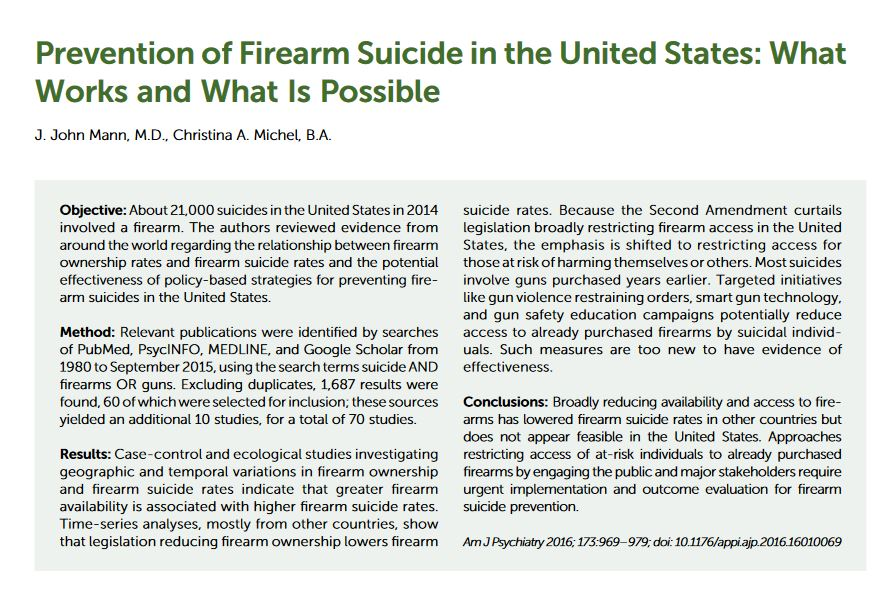 gun control sources for research paper
