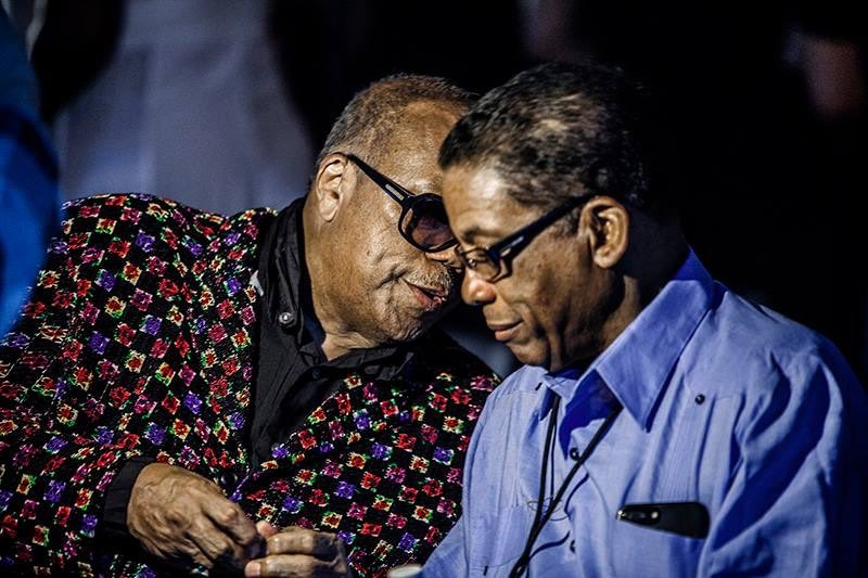 We've been talkin about gettin old since 1959 & 👀 at us now. Still got at least another 50 yrs before that happens😜 Ur the true definition of a brotha from another motha & I couldn't be more honored to know u. Happy bday @herbiehancock the true Watermelon Man! 📸:Fabricadearte