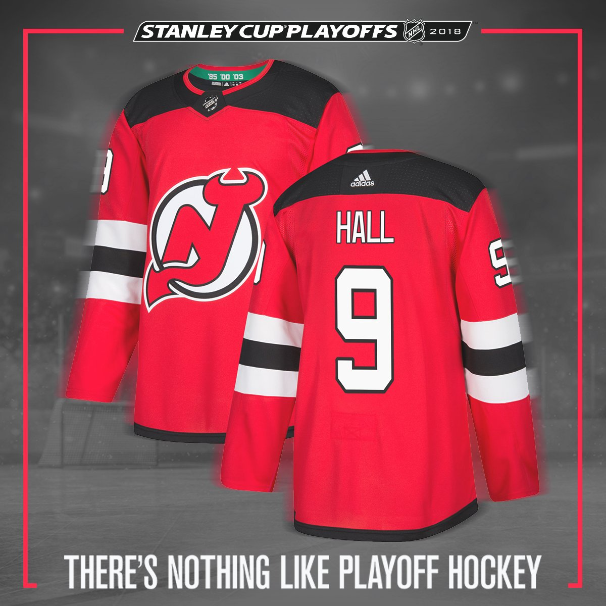 ReTweet this for a chance to win a @hallsy04 jersey! #StanleyCup   There's Nothing Like @NJDevils Playoff Hockey.   #adizero jersey via @adidashockey