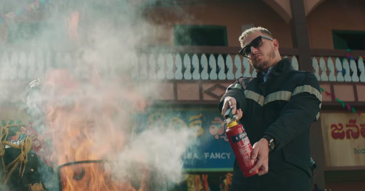 See DJ Snake tame fire in the new video for 'Magenta Riddim' rol.st/2INY4pb