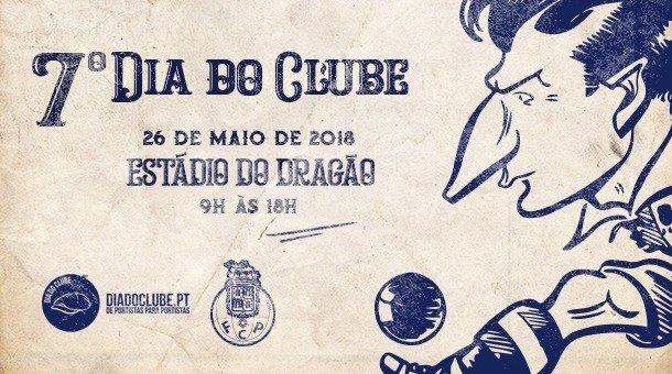 O Estádio do Dragão vai receber a 26 de maio o VII Dia do Clube, organizado por sócios e adeptos do FC Porto 🔵⚪ ℹ bit.ly/2EGkGFz #FCPorto