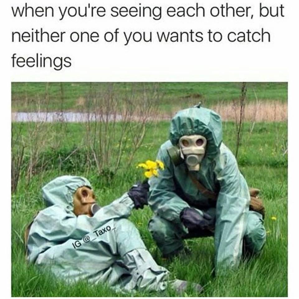 Hook up catching feelings