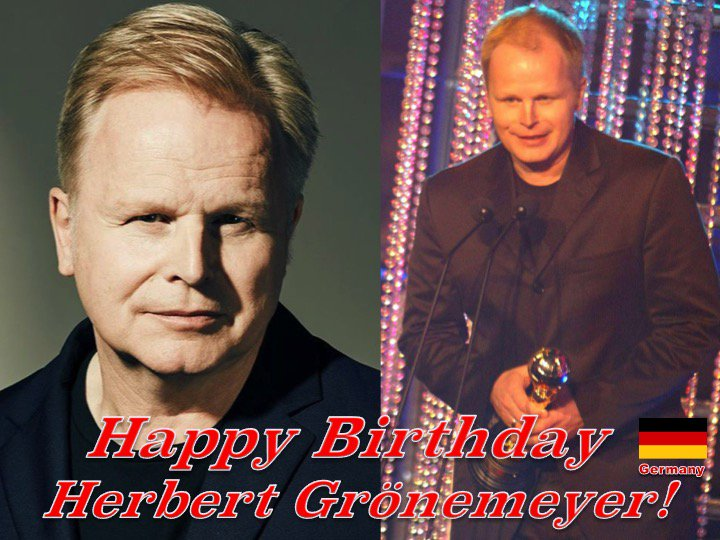 Happy Birthday to the 2003 World Music Awards German Winner, #HerbertGrönemeyer! @groenemeyer ❤️🇩🇪🎶🎸🎹🎤🎂🎉🎁🎈🌟💫🎇