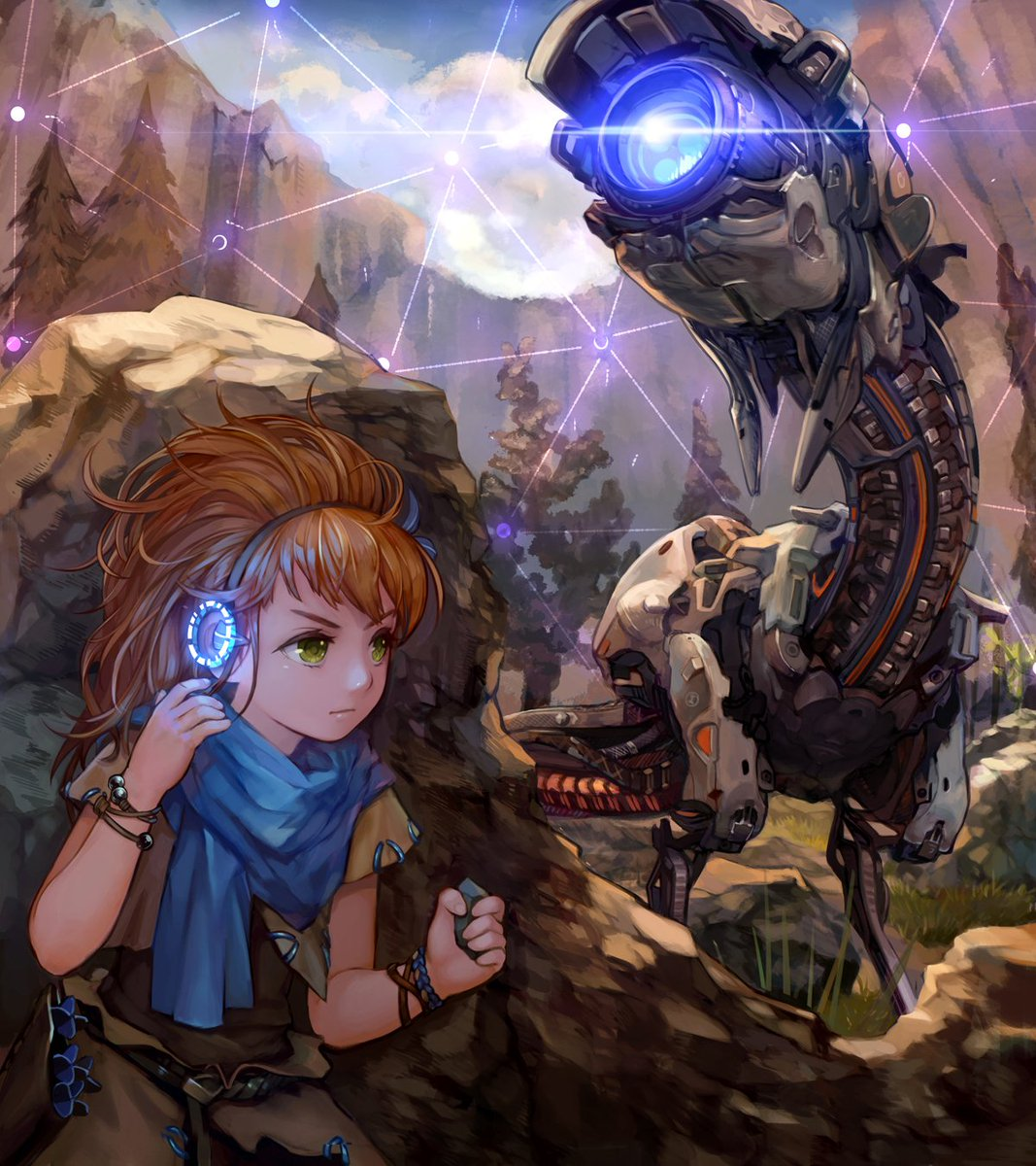 The Art Of Video Games On Twitter The Fanart Of Horizonzerodawn Young Aloy Artist Lf Pixiv
