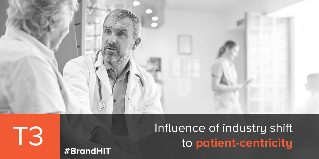 T3: How has the industry shift to patient-centricity influenced your health IT marketing strategies? #BrandHIT <br>http://pic.twitter.com/e1VDlAKcFA