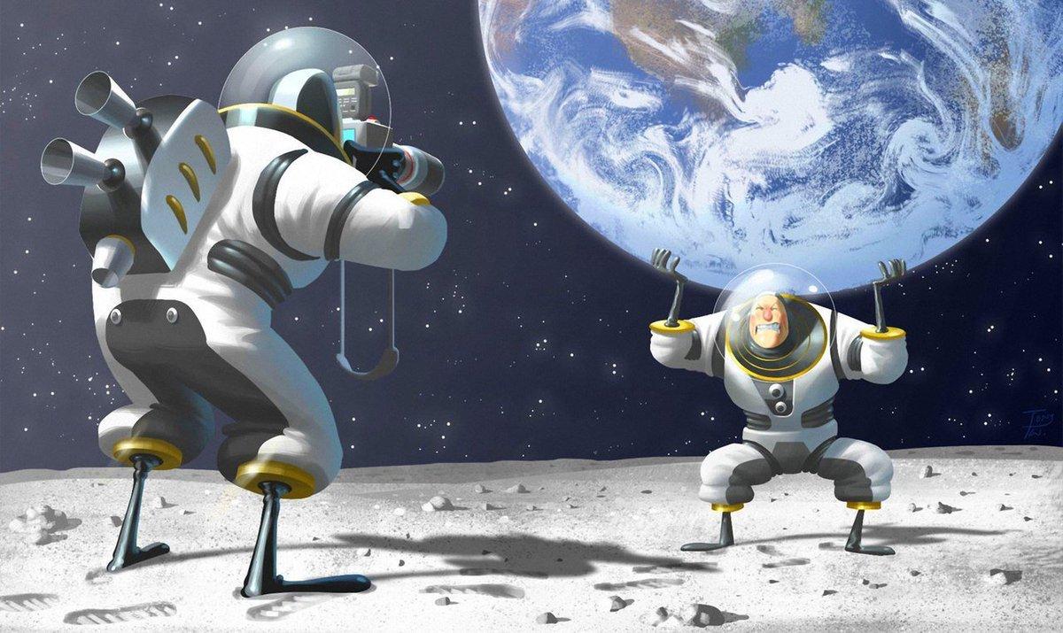 Родная школа, смешные картинки про космос