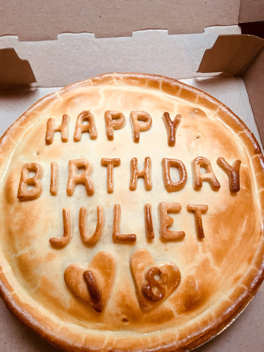 AJs Proper Pies On Twitter Youve Got To Love A Birthday Pie