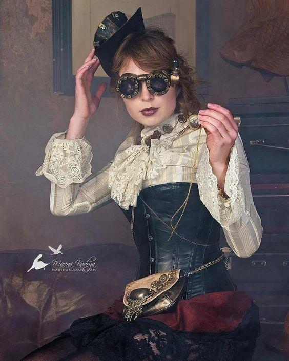 #steampunk #fashion