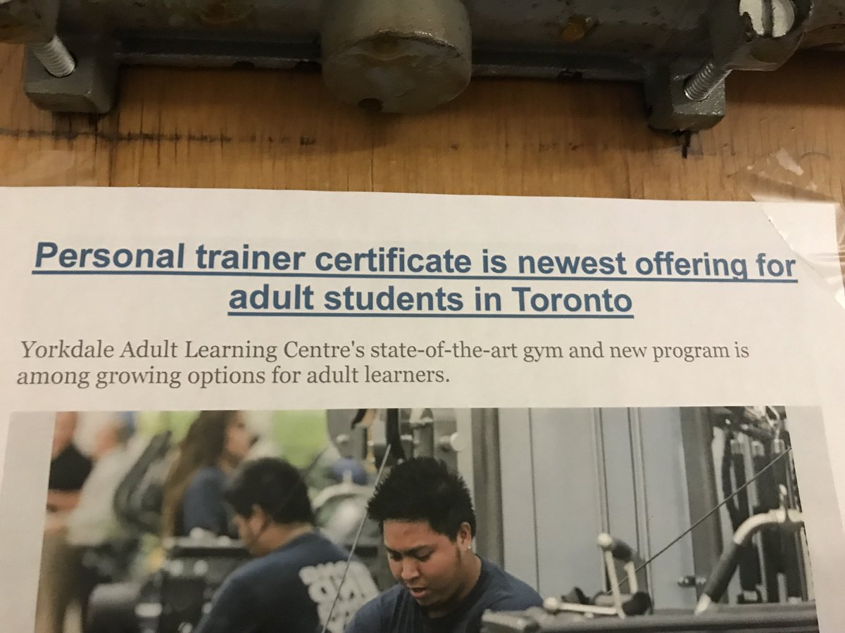 Norbert Costa On Twitter West 39 Tdsb Newest Training Gym Earn