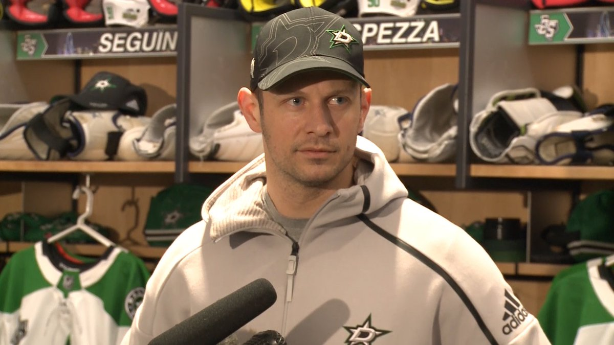 Spezza says that he feels good physically and he believes there is a lot he can contribute to this Stars team.
