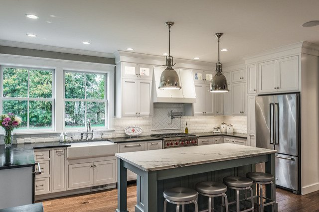 Beau Curtis Kitchen Designer, Nicole Stack, Created This Beautiful Kitchen With  @CrystalCabinets Stop In And See What Curtis Lumber Can Do To Create The  Kitchen ...