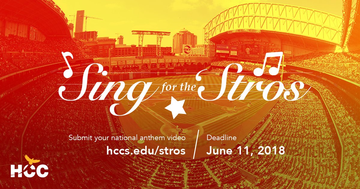 enter our sing for the stros national anthem contest today at httphccs edustros pictwittercomi2pyh3xutl