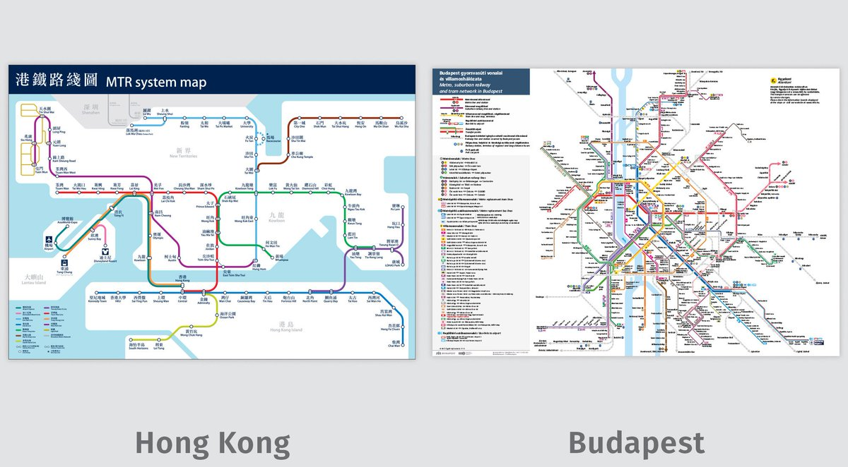 Hong Kong Metro Map Pdf.Transit Maps On Twitter Comparison Image And Links To Full Maps