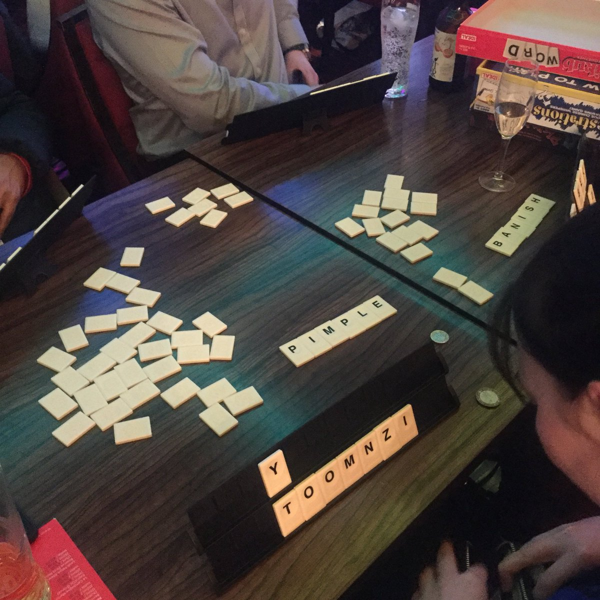 Fancy something wordy? #RummikubWord from the lovely folk @JohnAdams_Toys hits the spot...pic.twitter.com/Gmamp98KfR