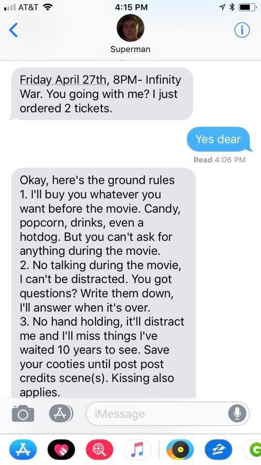 Guy Texts His Girlfriend